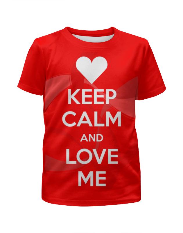 Футболка с полной запечаткой для девочек Printio Keep calm футболка wearcraft premium printio keep calm