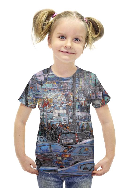 Футболка с полной запечаткой для девочек Printio Охотный ряд футболка с полной запечаткой для девочек printio картина