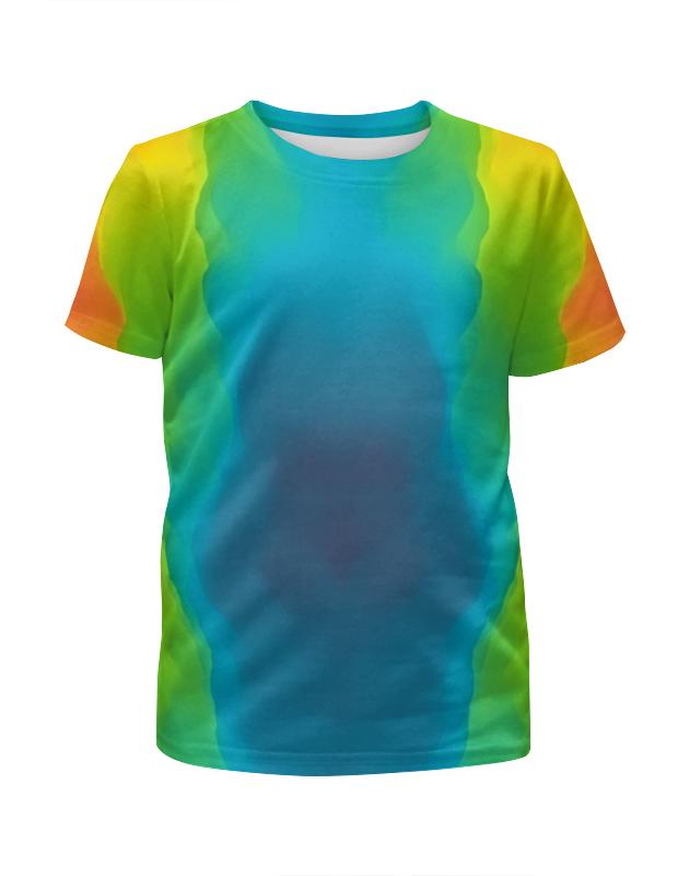 Футболка с полной запечаткой для девочек Printio Разводы красок футболка с полной запечаткой для девочек printio всплеск красок