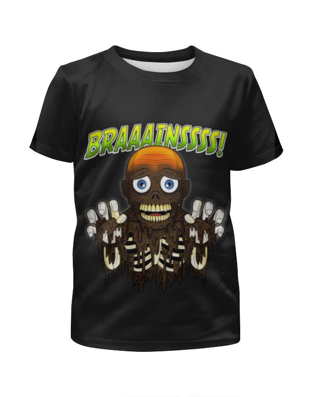 Футболка с полной запечаткой для девочек Printio Braaaaatnsssss! футболка с полной запечаткой для девочек printio волгоградская область