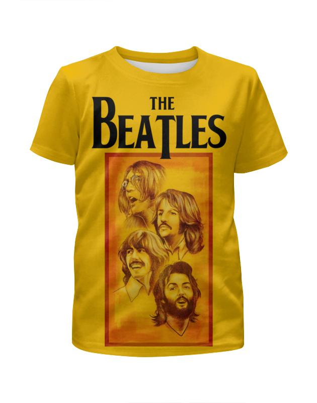 Футболка с полной запечаткой для девочек Printio The beatles футболка с полной запечаткой для девочек printio john lennon the beatles