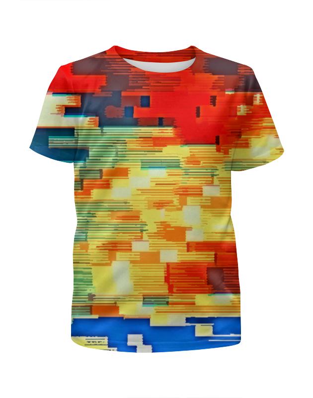 Футболка с полной запечаткой для девочек Printio Pixel color chem eshe poradyut pixel i pixel xl