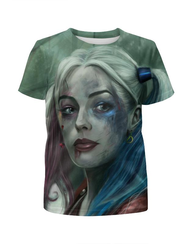 Фото - Printio Отряд самоубийц: харли квинн футболка с полной запечаткой для девочек printio отряд самоубийц харли квинн