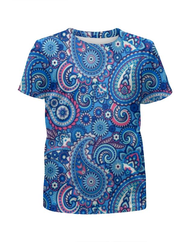 Футболка с полной запечаткой для девочек Printio Орнамент огурцы футболка с полной запечаткой для девочек printio пртигр arsb