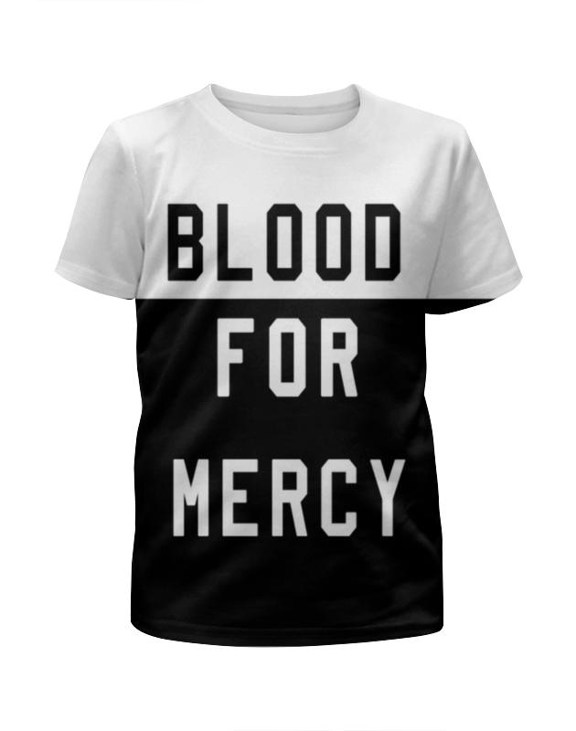 цена Футболка с полной запечаткой для девочек Printio Yellow claw blood for mercy онлайн в 2017 году