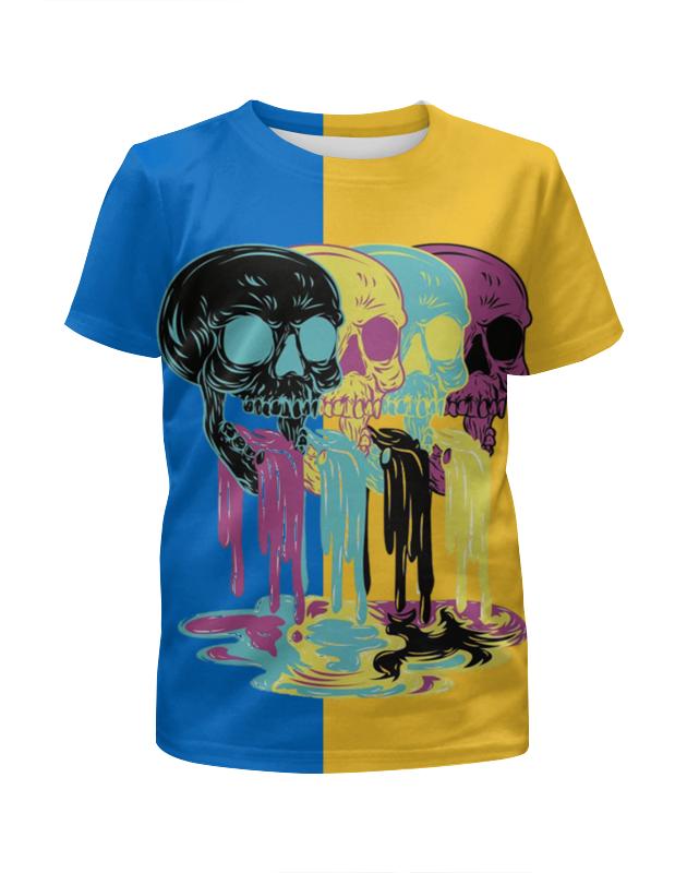 Футболка с полной запечаткой для девочек Printio Черепа арт футболка с полной запечаткой для девочек printio spawn