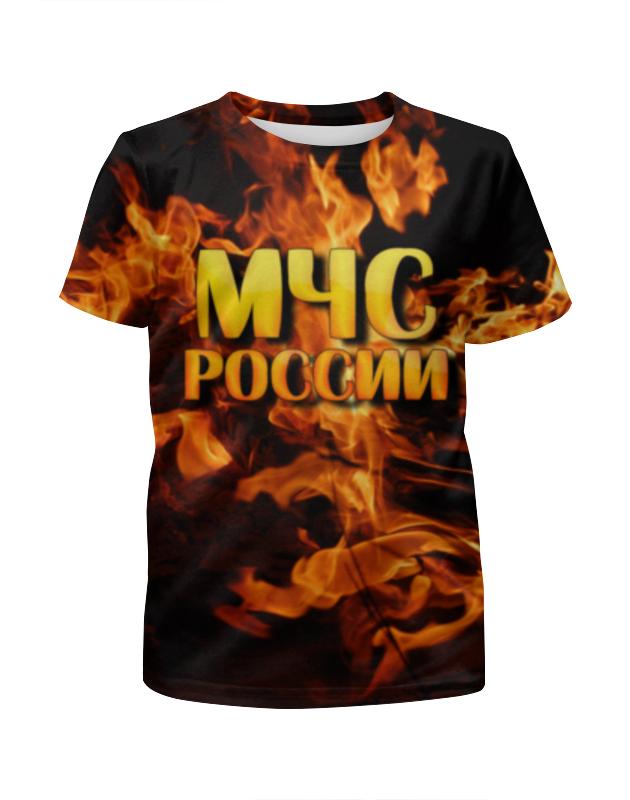 Футболка с полной запечаткой для девочек Printio Мчс россии футболка с полной запечаткой мужская printio мчс россии
