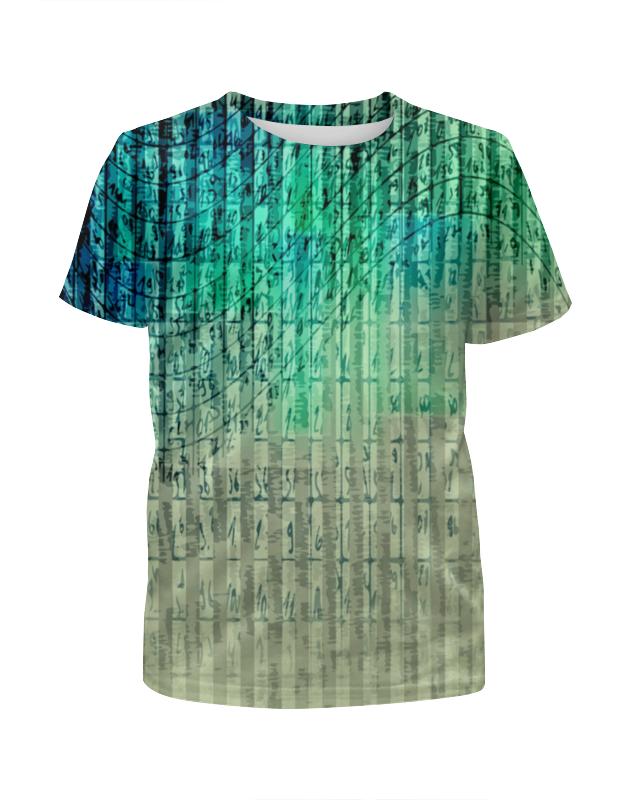 Футболка с полной запечаткой для девочек Printio Иероглифы футболка с полной запечаткой для девочек printio иероглифы