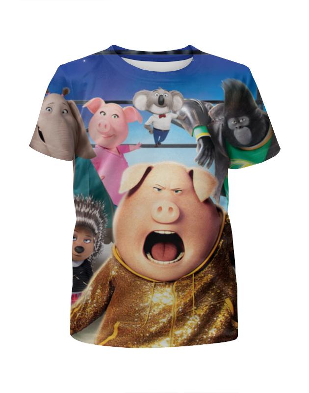 Футболка с полной запечаткой для девочек Printio Зверопой футболка с полной запечаткой для девочек printio мишка тед
