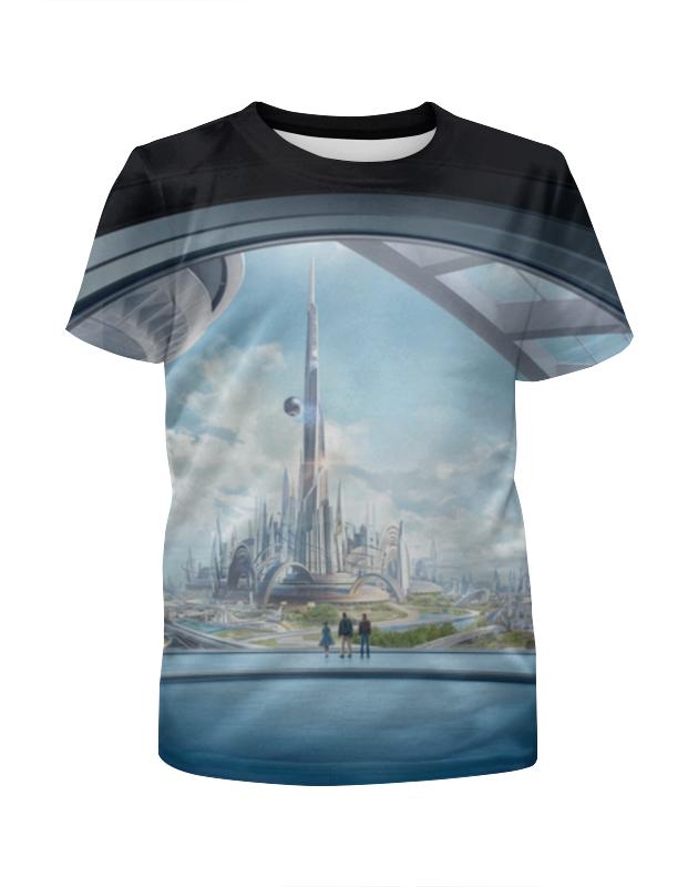 Футболка с полной запечаткой для девочек Printio Земля будущего футболка земля воинов