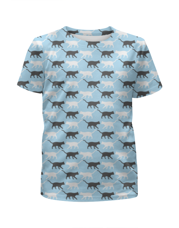 Футболка с полной запечаткой для девочек Printio Котики футболка с полной запечаткой для девочек printio котики