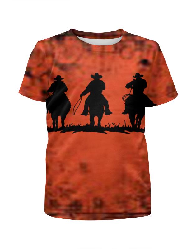 Футболка с полной запечаткой для девочек Printio Дикий запад футболка с полной запечаткой для мальчиков printio дикий запад