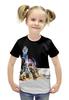 """Футболка с полной запечаткой для девочек """"Звездные войны: Эпизод  Пробуждение силы  """" - авторские майки, star wars, пробуждение силы"""
