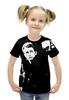"""Футболка с полной запечаткой для девочек """"Джеймс Дин James Dean"""" - стиль, ретро, легенда, джеймс дин, james dean"""