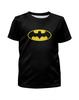 """Футболка с полной запечаткой для девочек """"Бэтмен / Batman"""" - комиксы, batman, джокер, символ"""