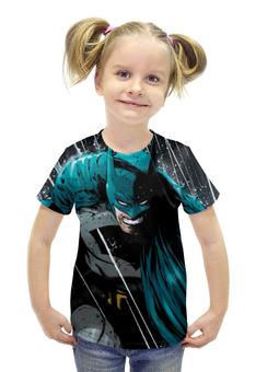 """Футболка с полной запечаткой для девочек """"Бэтмен"""" - комиксы, batman, бэтмен"""