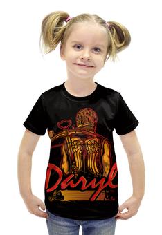 """Футболка с полной запечаткой для девочек """"Daryl (The Walking Dead)"""" - ходячие мертвецы, walking dead, daryl"""