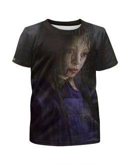 """Футболка с полной запечаткой для девочек """"Сайлент Хилл / Silent Hill"""" - рисунок, кино, ужасы"""