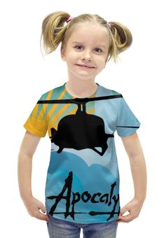 """Футболка с полной запечаткой для девочек """"Вертолет (Апокалипсис Сегодня)"""" - apocalypse now"""