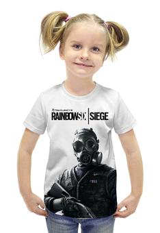 """Футболка с полной запечаткой для девочек """"Rainbowsix: siege"""" - игры, игра, персонажи, rainbowsix, футболки с играми"""