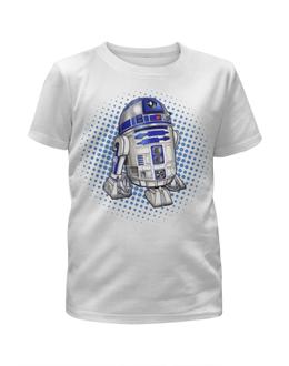"""Футболка с полной запечаткой для девочек """"Звездные войны"""" - bb8, дроид, фантастика, звездные войны, робот"""