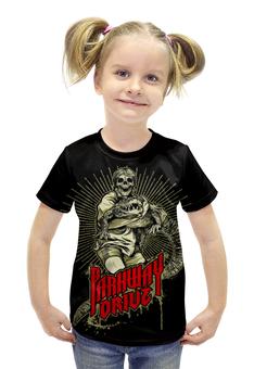 """Футболка с полной запечаткой для девочек """"Parkway drive"""" - рок и метал, металкор"""