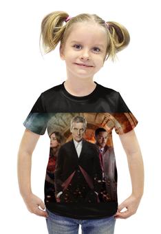 """Футболка с полной запечаткой для девочек """"Doctor Who"""" - doctor who, доктор кто, питер капальди"""