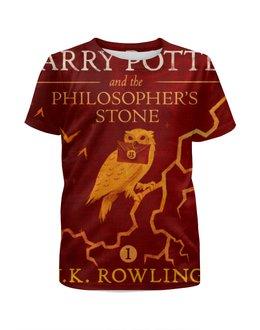 """Футболка с полной запечаткой для девочек """"Гарри Поттер"""" - harry potter, гарри поттер, джоан роулинг"""