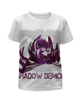 """Футболка с полной запечаткой для девочек """"Shadow demon Dota 2"""" - арт, игры, dota 2, дота 2"""