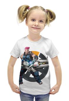"""Футболка с полной запечаткой для девочек """"Overwatch"""" - blizzard, для геймера, overwatch, игры на пк"""