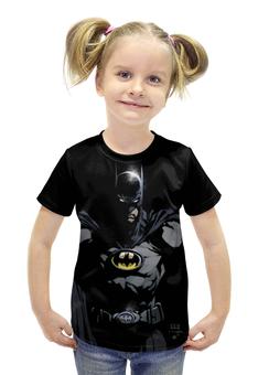 """Футболка с полной запечаткой для девочек """"Batman"""" - комиксы, batman, фантастика, бэтмэт"""