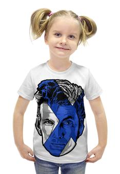 """Футболка с полной запечаткой для девочек """"Доктор Кто (Doctor Who)"""" - doctor who, доктор кто"""