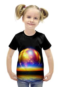 """Футболка с полной запечаткой для девочек """"Space"""" - space, космос, вселенная, galaxy, thespaceway"""