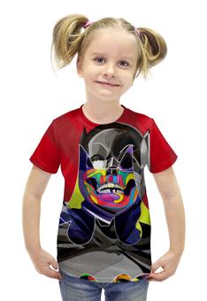 """Футболка с полной запечаткой для девочек """"Бэтмен"""" - комиксы, batman, бэтмен, dc, dc comics"""