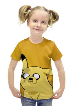 """Футболка с полной запечаткой для девочек """"покемон (Pokémon)"""" - pokemon, покемон, покемоны, pokémon"""