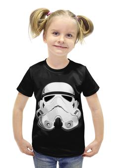 """Футболка с полной запечаткой для девочек """"Star Wars Stormtrooper"""" - star wars, звездные войны, stormtrooper"""