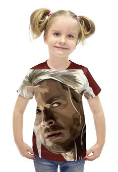 """Футболка с полной запечаткой для девочек """"Тор (Thor)"""" - marvel, мстители, марвел, локи, тор"""