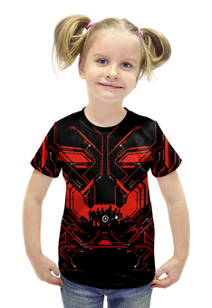 """Футболка с полной запечаткой для девочек """"Мстители: Эра Альтрона"""" - комиксы, avengers, марвел, ultron"""