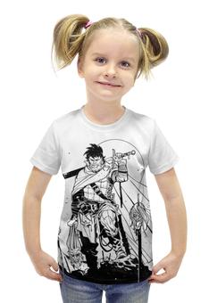 """Футболка с полной запечаткой для девочек """"Путь воина"""" - викинги, vikings, воины, путь воина, викингда"""