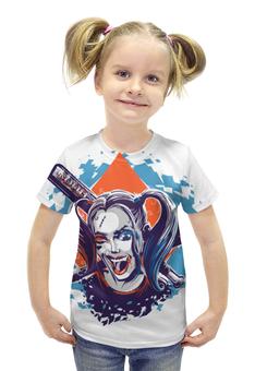 "Футболка с полной запечаткой для девочек ""Harley Quinn"" - harley quinn"