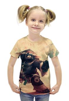 """Футболка с полной запечаткой для девочек """"WarCraft Collection: panda"""" - wow, dota, warcraft, дота, варкрафт"""