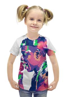 "Футболка с полной запечаткой для девочек ""Jay-Z"" - арт, рэп, хип хоп, хип-хоп, jay-z"