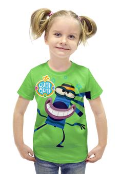 """Футболка с полной запечаткой для девочек """"Куми Куми мультсериал"""" - мультик, мультфильм, мультсериал, qumi qumi, куми куми"""