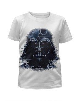 """Футболка с полной запечаткой для девочек """"Star Wars Darth Vader"""" - film, star wars, darth vader, дарт вейдер"""