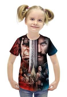 """Футболка с полной запечаткой для девочек """"Warcraft"""" - арт, фантастика, warcraft, фэнтэзи"""