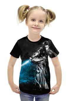 """Футболка с полной запечаткой для девочек """"Star Wars"""" - star wars, звездные войны, эникен"""