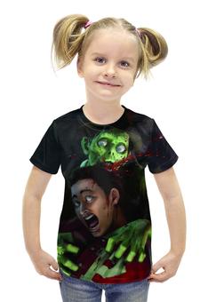 """Футболка с полной запечаткой для девочек """"stubbs the zombie"""" - игры, пк, stubbs the zombie"""
