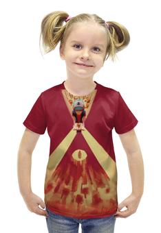 """Футболка с полной запечаткой для девочек """"Gravity Falls"""" - гравити фолз, диппер и мейбл, орегон"""