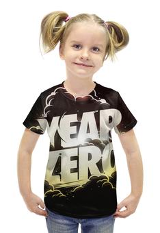 """Футболка с полной запечаткой для девочек """"YEAR ZERO"""" - музыка, альбом, лейбл"""