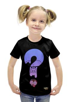 """Футболка с полной запечаткой для девочек """"Gravity Falls"""" - гравити фолз"""